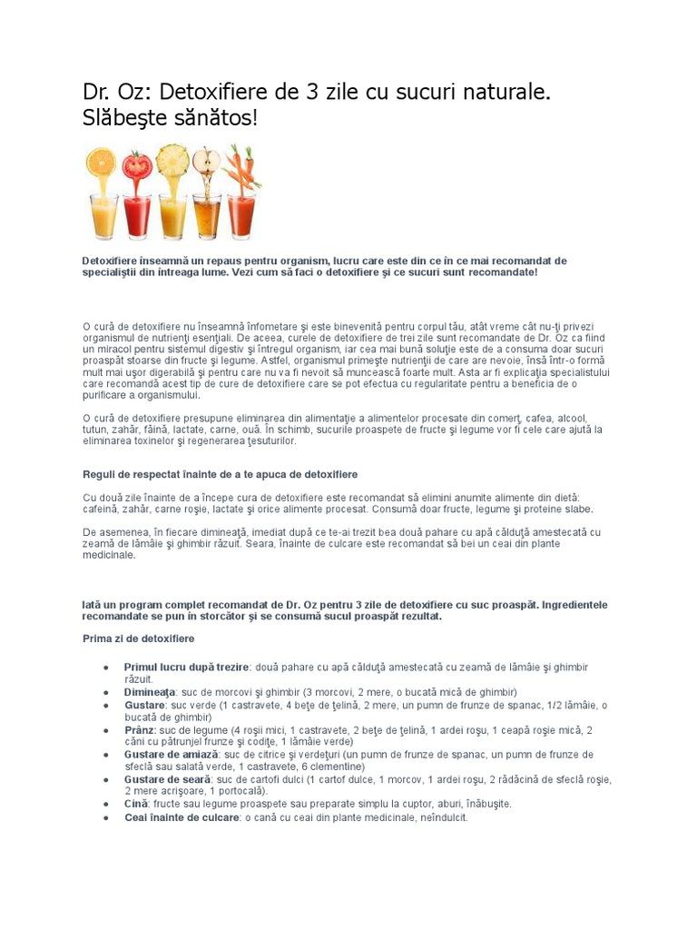 detoxifierea organismului de zahar