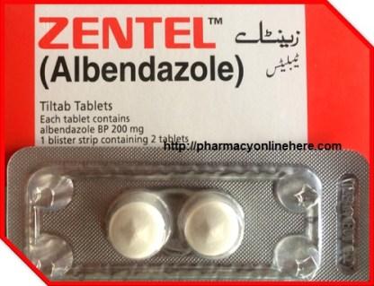 Zentel, 200 mg, comprimate filmate