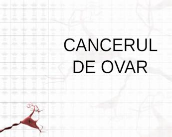 cancer ovarian markeri tumorali