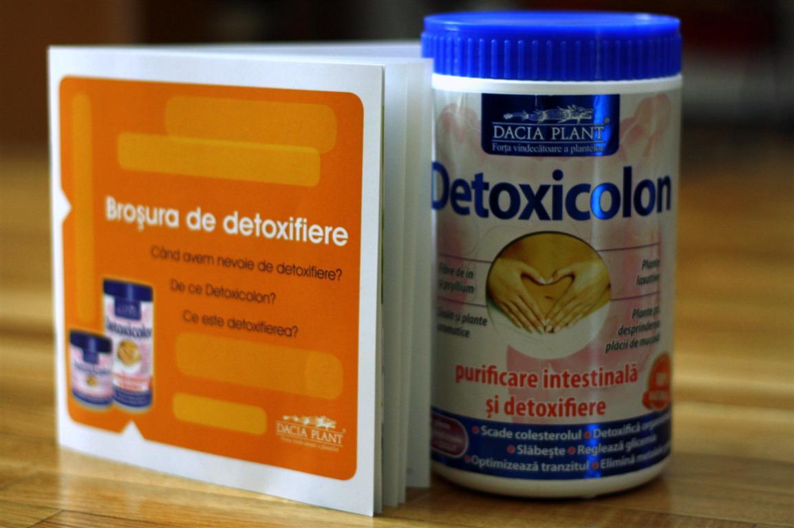 detoxifierea corpului de curățare a colonului