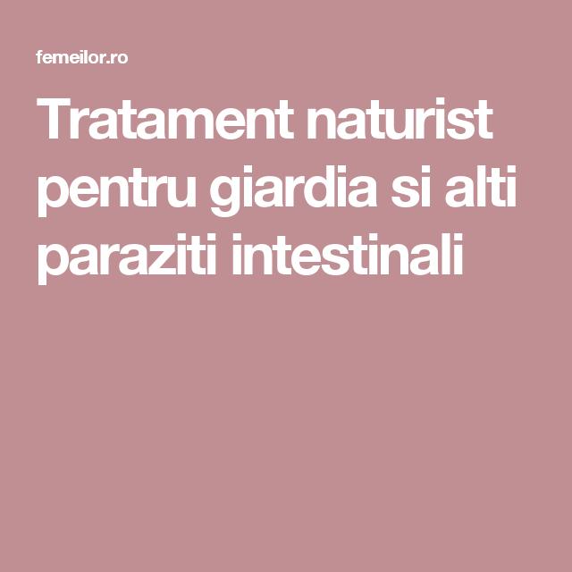 perioade de tratament cu paraziti