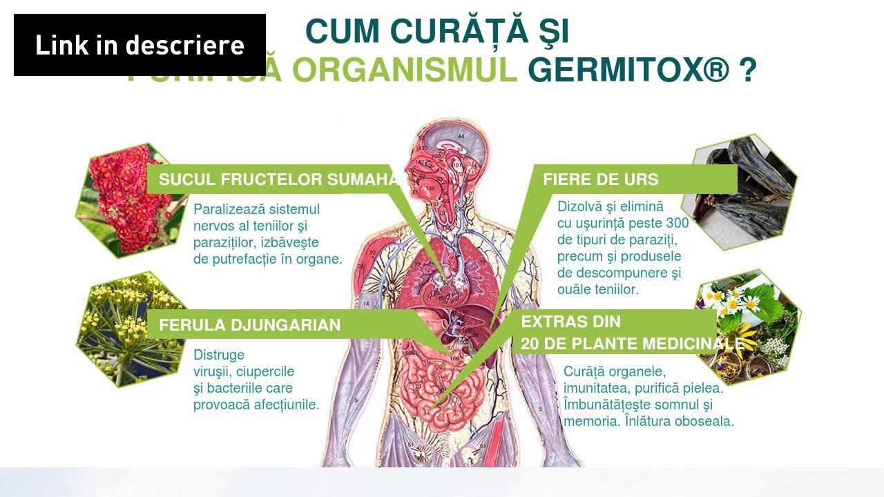 Pastile împotriva paraziților umani, Parasites 12 Detox Forte, pret 41,00 RON-Herbagetica
