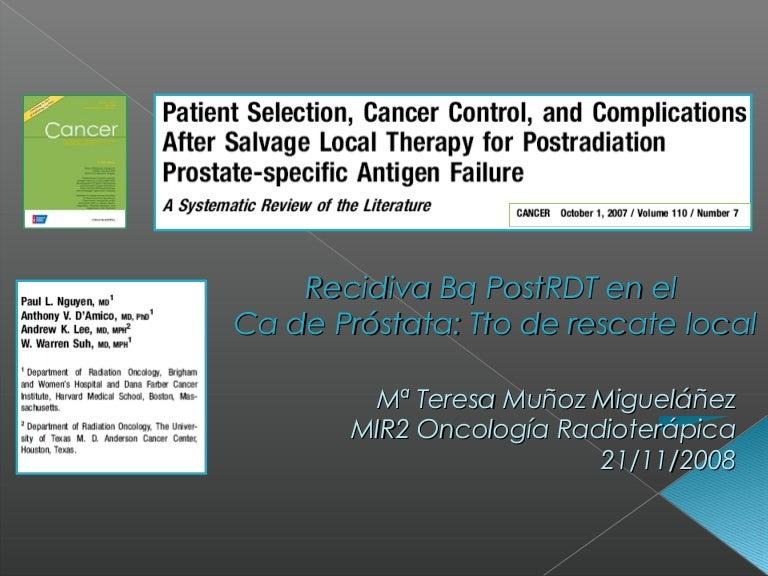cancer prostata recidiva viermii din scaun sunt vizibili