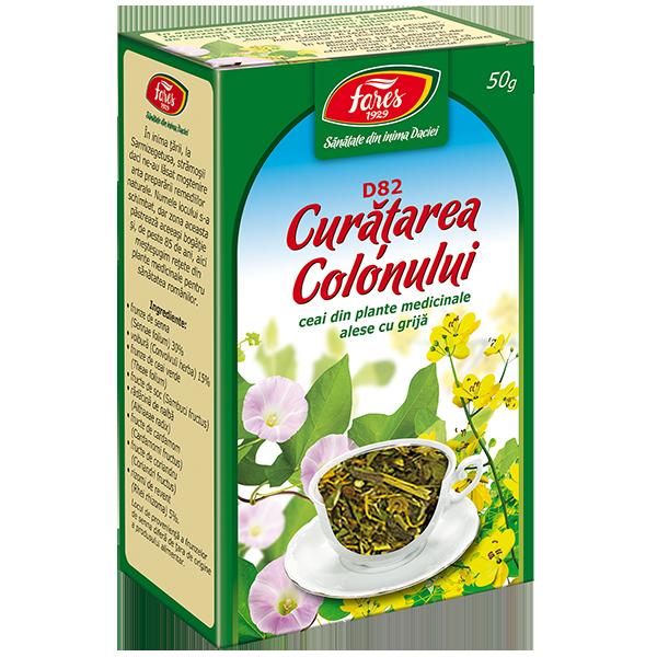 ceai de curățare a colonului detox